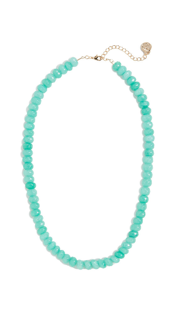 Cloverpost Visual Necklace in blue / green