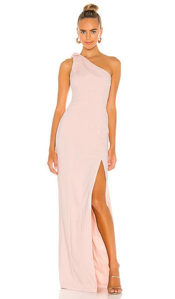Jay Godfrey Goldie Gown in Pink in blush