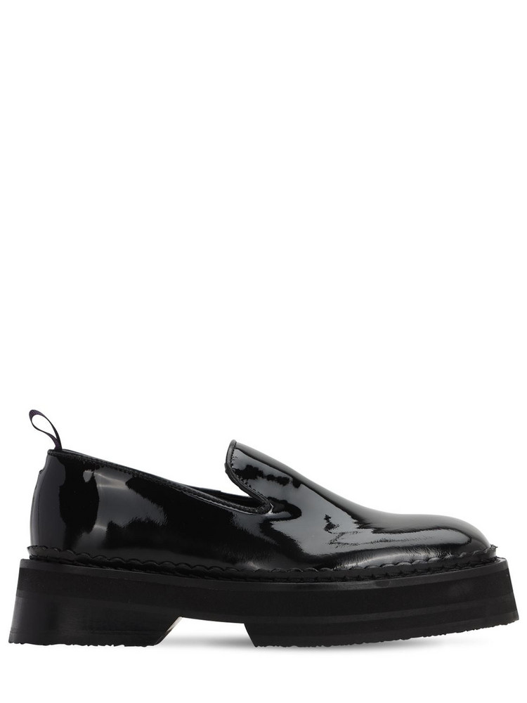 EYTYS Baccarat Platform Patent Leather Loafer in black