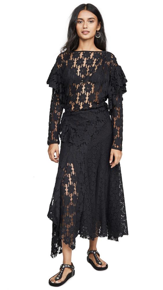 Isabel Marant Etoile Vally Dress in black