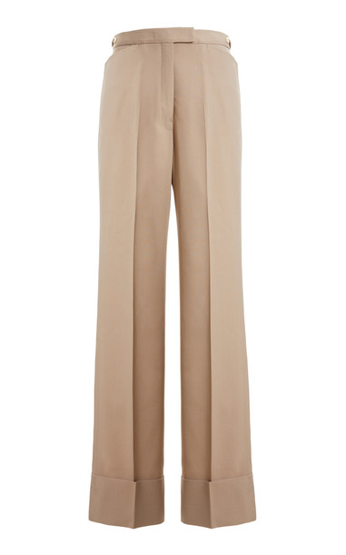 Lemaire Wool-Blend Straight-Leg Trousers in grey