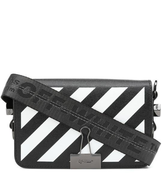 Off-White Binder Clip Mini shoulder bag in black