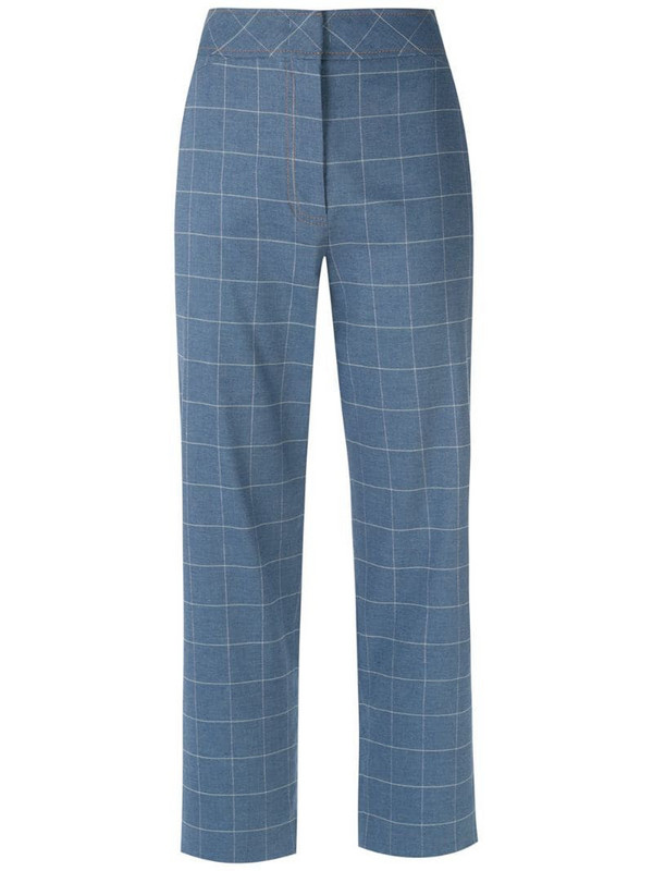 Nk printed straight trousers
