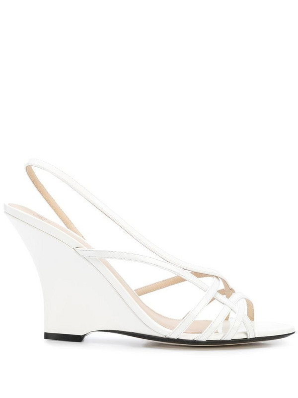 Alevì Valerie wedge sandals in white