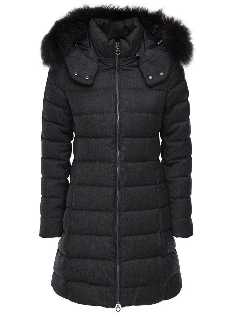 TATRAS Laviana Basic Wool Down Jacket in grey