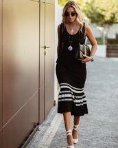 bag,black bag,gucci bag,black dress,espadrilles