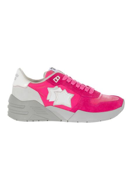 Atlantic Stars Venus Mid-cut Sneakers in pink / white