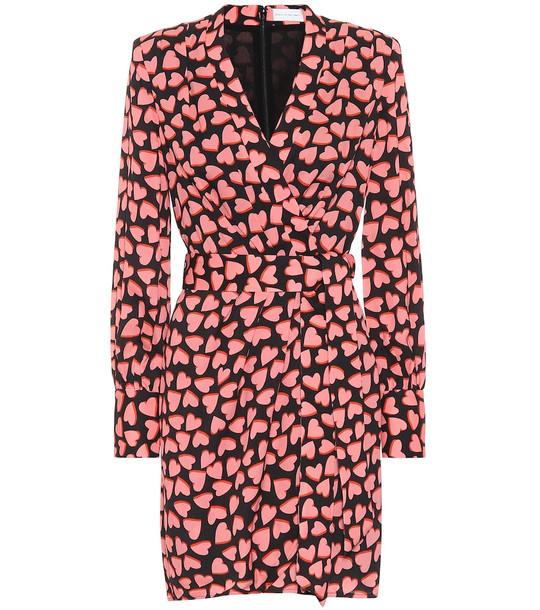 Rebecca Vallance Hotel Beau crêpe mini dress in pink