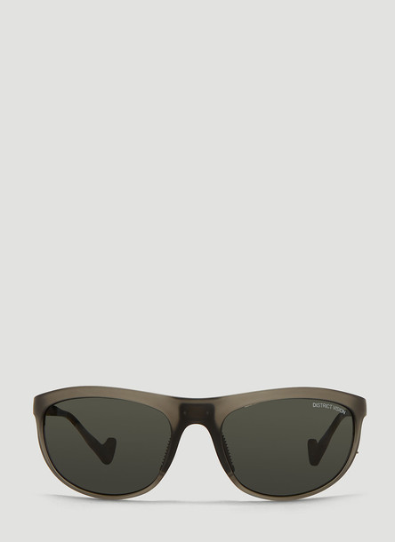 District Vision Takeyoshi Tinted Sunglasses in Grey size One Size