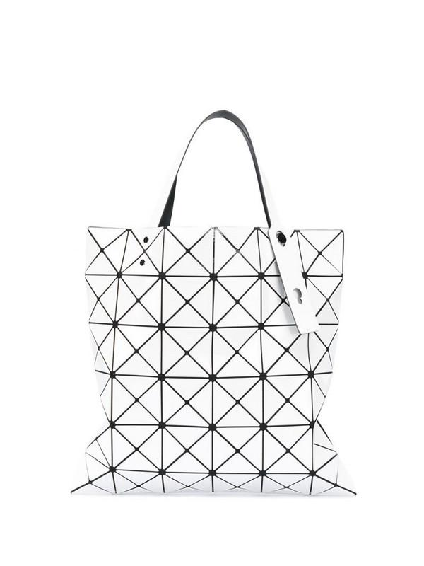 Bao Bao Issey Miyake Lucent tote bag in white
