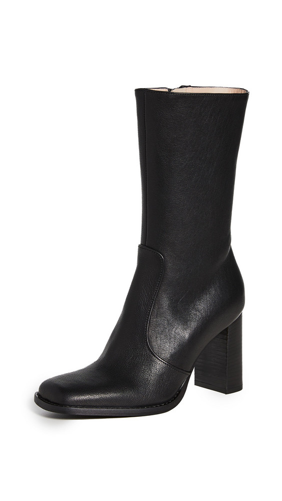 Brother Vellies Lauryn Boots in midnight
