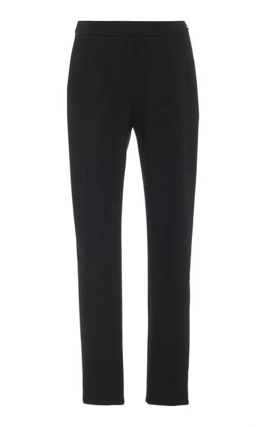 Carolina Herrera Skinny Straight Leg Pant Size: 0 in black