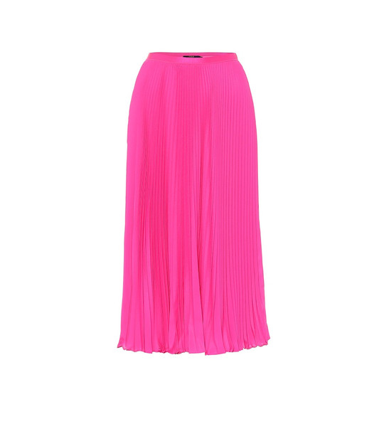 Polo Ralph Lauren Pleated midi skirt in pink