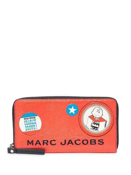 Marc Jacobs cartoon print purse in orange