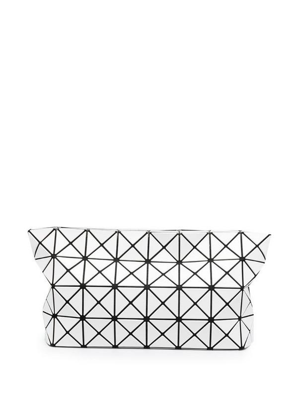 Bao Bao Issey Miyake Prism clutch bag in white