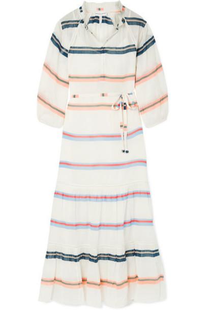 APIECE APART - Granada Striped Cotton-voile Maxi Dress - Ivory