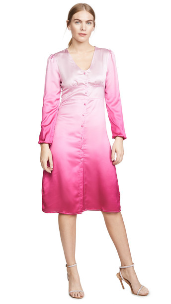 Lioness American Sweetheart Midi Dress in pink
