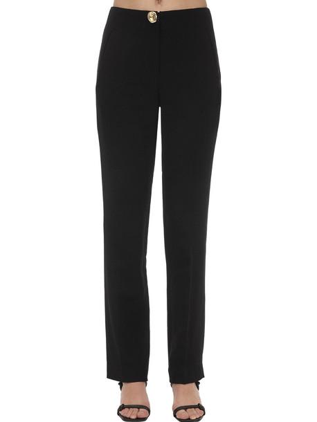 REJINA PYO Norma Linen & Cotton Twill Pants in black