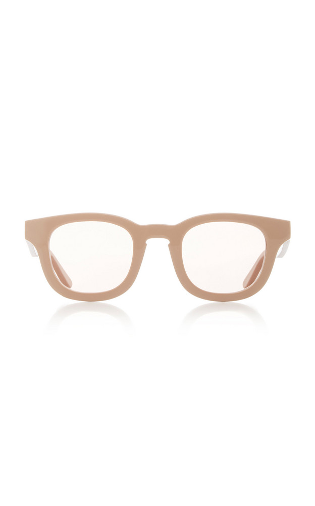 Thierry Lasry Monopoly Round-Frame Acetate Sunglasses in neutral