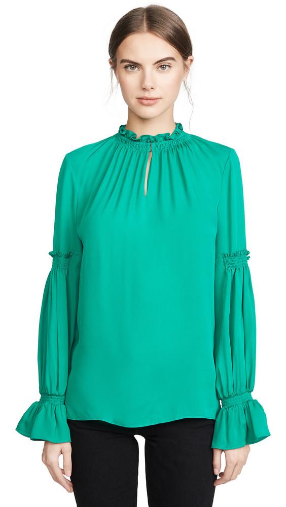 Kobi Halperin Sonya Blouse in emerald
