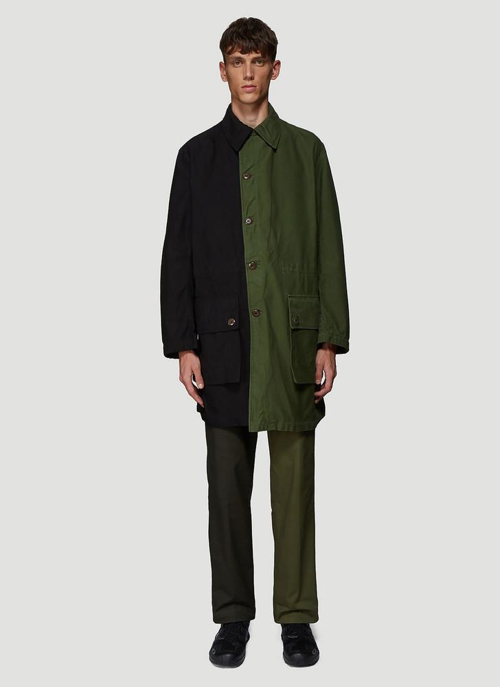 DIVISION (DI)VISION Split Parka Jacket in Black size 3