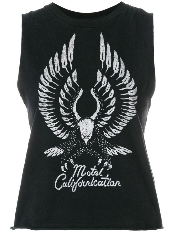Local Authority Motel Californication tank top in black