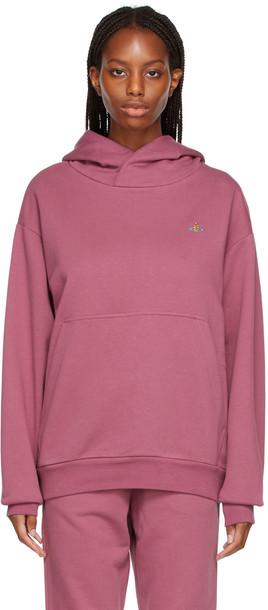 Vivienne Westwood Pink Pullover Hoodie