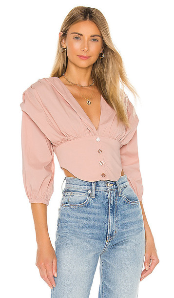 Song of Style Eunice Top in Blush