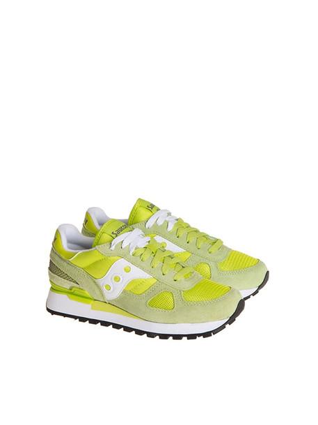 Saucony Shadow Original Sneakers in green / yellow
