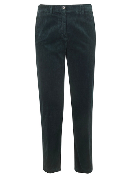 Aspesi Straight Leg Trousers in green