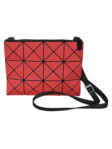 Bao Bao Issey Miyake Lucent Frost Shoulder Bag in red
