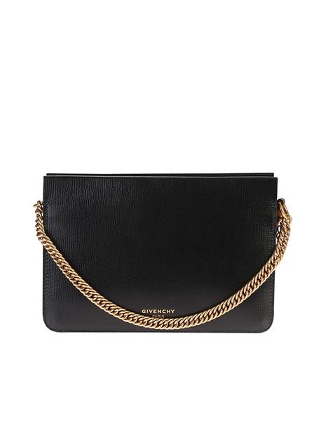 Givenchy Mini Leather Shoulder Bag in black