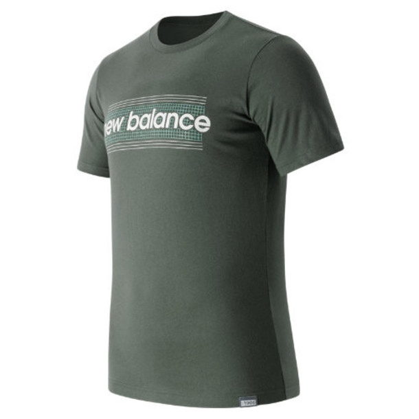 New Balance 63517 Men's Grid Tee - Grey (MT63517GVV)