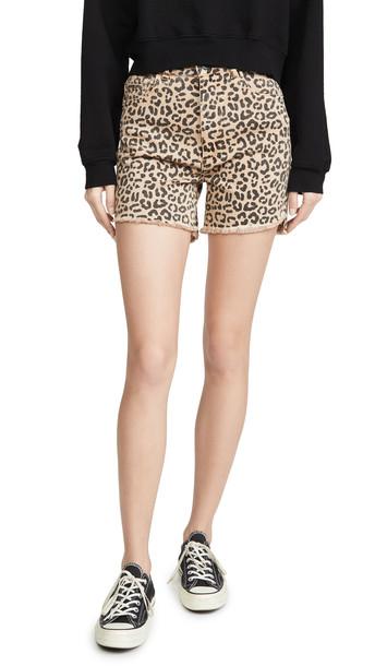 DL DL1961 Hepburn Shorts High Rise Wide Leg Shorts