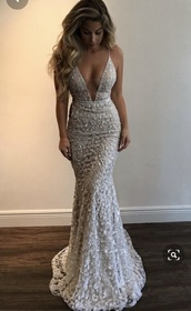 dress,beaded silver long dress with spaghetti straps