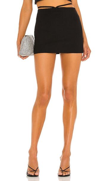 superdown Tamella Mini Skirt in Black