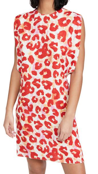 Marni Poppy Dress in red