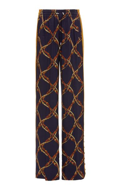 Jonathan Simkhai Saddle Print Track Pants
