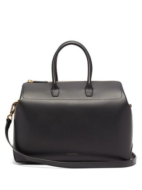 Mansur Gavriel - Travel Medium Leather Bag - Womens - Black Multi