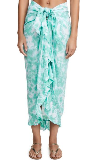 TIARE HAWAII Frill Wrap Skirt