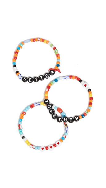 Roxanne Assoulin Better Together Camp Bracelets in multi