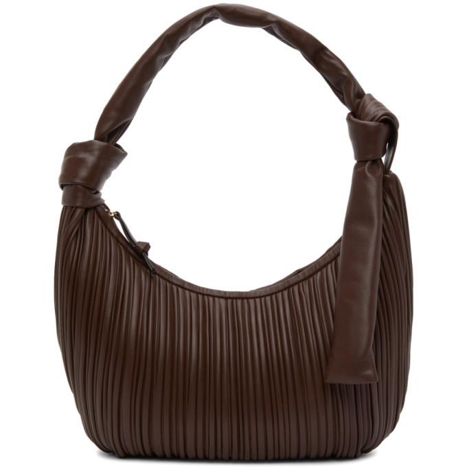 NEOUS Brown Neptune Bag in chocolate