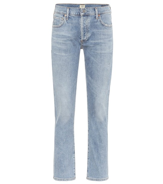 Citizens of Humanity Emerson low-rise boyfriend jeans in blue