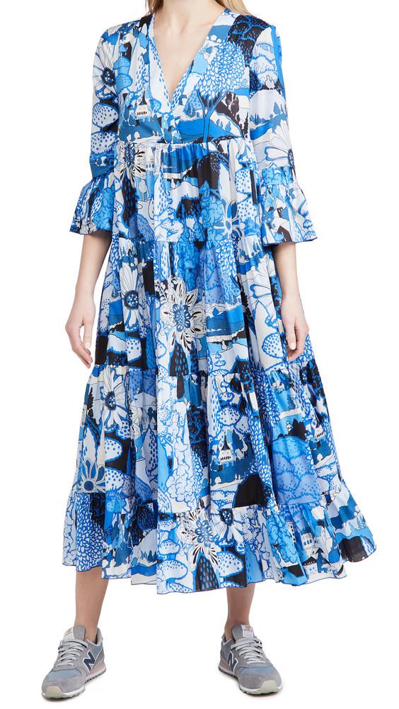 La Double J Jennifer Jane Dress in blue