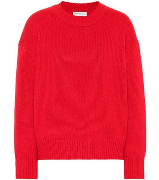 Mansur Gavriel Cashmere sweater in red