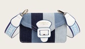 bag,denim,blue,blue bag,pattern,patchwork,handbag