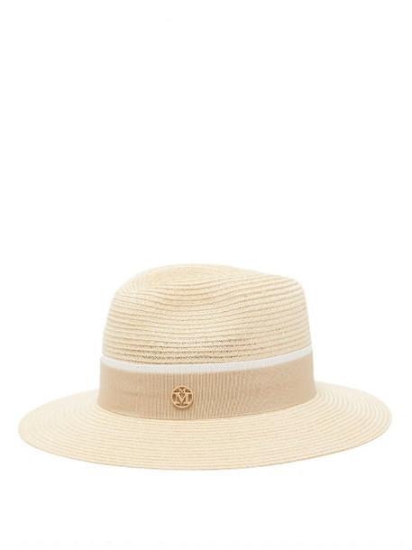 Maison Michel - Henrietta Straw Hat - Womens - Beige