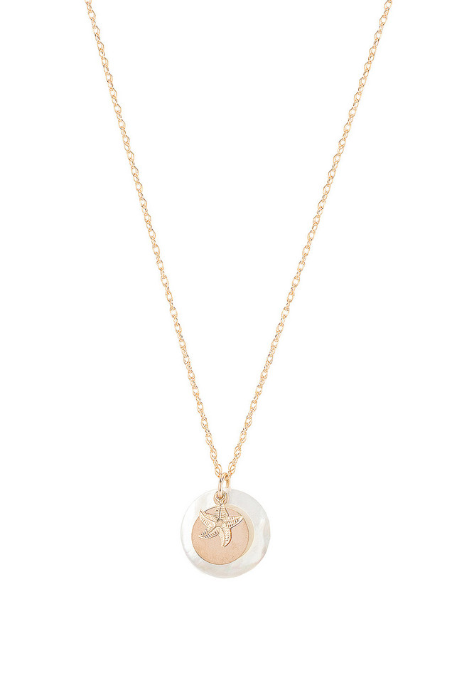 Paradigm Splash Necklace in gold / metallic