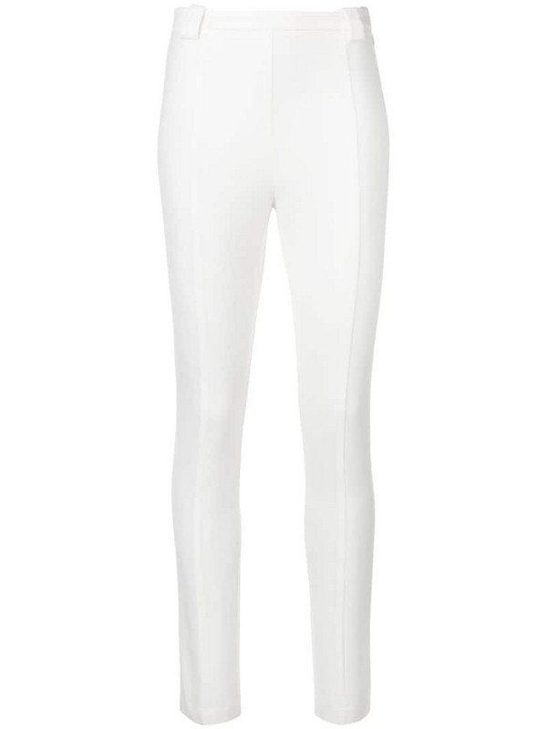 Patrizia Pepe skinny trousers in white