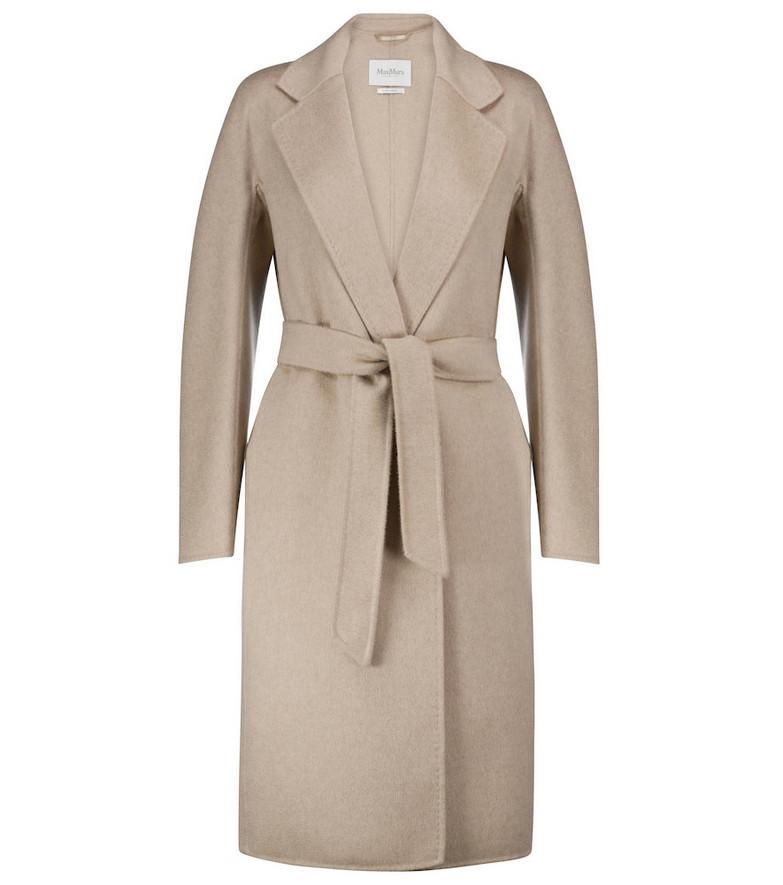 Max Mara Goloso cashmere coat in beige